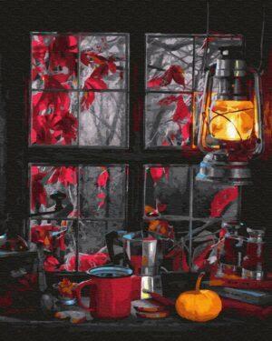 Картина по номерам Осенний уют (Brushme GX30210)