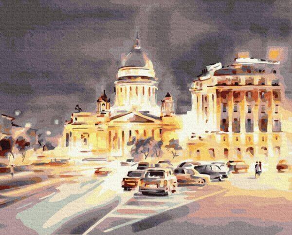 Картина по номерам Свет ночного города (Brushme GX35213)