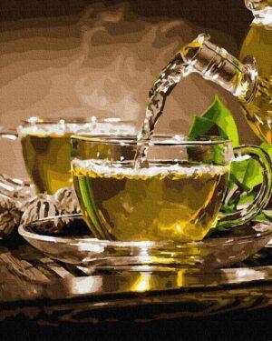 Картина по номерам Ароматное чаепитие (Brushme GX35227)