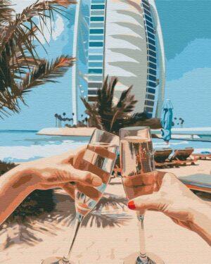 Картина по номерам Дубай на двоих (Brushme BS36347)