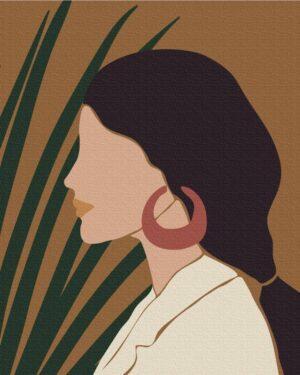 Картина по номерам Пастельные тропики: триптих 1 (Brushme BS51715)