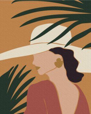 Картина по номерам Пастельные тропики: триптих 3 (Brushme BS51717)