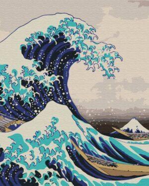 Картина по номерам Большая волна в Канагаве (Хокусая) (Brushme BS21794)