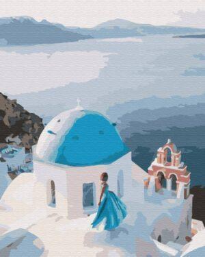 Картина по номерам На крыше Греции (Brushme BS34800)