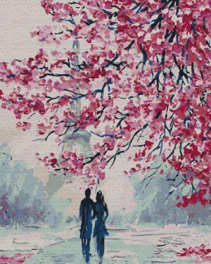 Картина по номерам Романтическая прогулка (Brushme BS51389)